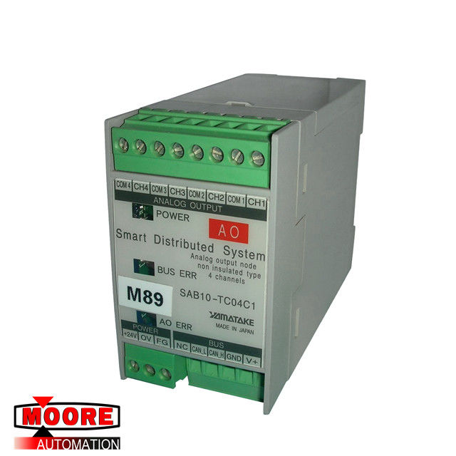 SAB10-TC04C1 YAMATAKE Smart Distributed System Analog Output 4 channels