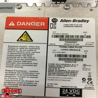 China 2711PC-T10C4D1 2711PCT10C4D1 Allen Bradley AB PanelView plus Anschluss des Vertrags-1000 usine