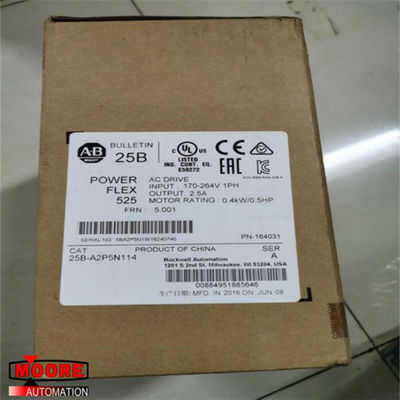 China 25B-A2P5N114 25BA2P5N114 Allen Bradley AB PowerFlex 525 Antrieb mit einer Phase usine