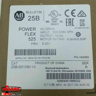 China 25B-D010N114 25B-D010N114  Allen Bradley  AB PowerFlex 525 Drive with Three Phase usine