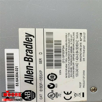 China 6180P-15BPXP 6180P15BPXP Allen Bradley AB VersaView plus Reihe mit 15 Zoll usine